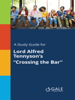 "A Study Guide for Lord Alfred Tennyson's ""Crossing the Bar"""