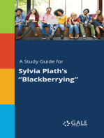"A Study Guide for Sylvia Plath's ""Blackberrying"""