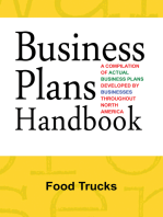Business Plans Handbook: Food Trucks