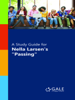 "A Study Guide for Nella Larsen's ""Passing"""