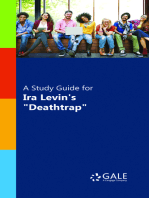 "A Study Guide for Ira Levin's ""Deathtrap"""