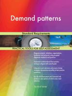 Demand patterns Standard Requirements