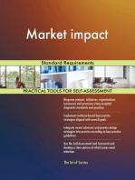 Market impact Standard Requirements