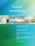 Hospital accreditation A Clear and Concise Reference