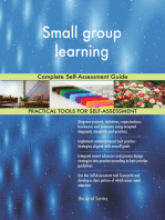 Small group learning Complete Self-Assessment Guide