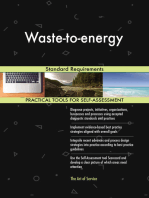 Waste-to-energy Standard Requirements