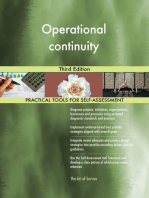 Operational continuity Third Edition