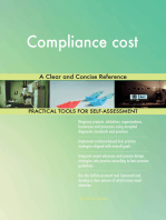 Compliance cost A Clear and Concise Reference