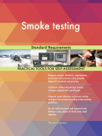 Smoke testing Standard Requirements