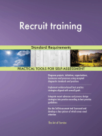 Recruit training Standard Requirements