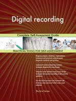 Digital recording Complete Self-Assessment Guide