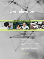Live television Standard Requirements