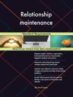 Relationship maintenance Standard Requirements