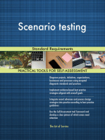 Scenario testing Standard Requirements