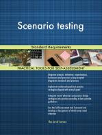 Scenario testing Standard Requirements