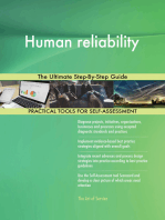 Human reliability The Ultimate Step-By-Step Guide