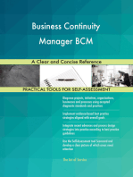 Business Continuity Manager BCM A Clear and Concise Reference