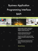 Business Application Programming Interface BAPI Standard Requirements