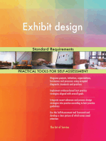 Exhibit design Standard Requirements