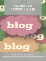 How to Create a Winning Headline