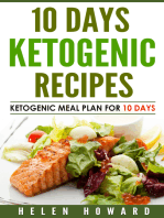 10 Days Ketogenic Diet Recipes Meal Plan
