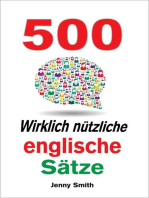 500 Wirklich nützliche englische Sätze