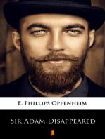 Sir Adam Disappeared