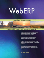 WebERP Standard Requirements