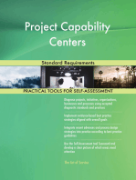 Project Capability Centers Standard Requirements