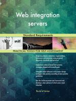 Web integration servers Standard Requirements