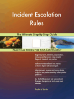 Incident Escalation Rules The Ultimate Step-By-Step Guide