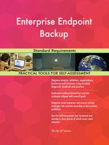 Enterprise Endpoint Backup Standard Requirements