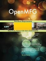 OpenMFG Standard Requirements