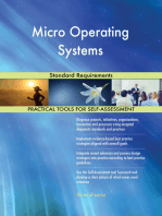 Micro Operating Systems Standard Requirements