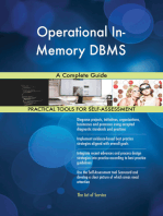 Operational In-Memory DBMS A Complete Guide
