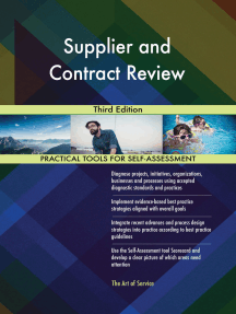 Supplier and Contract Review Third Edition