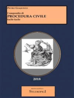 Compendio di PROCEDURA CIVILE facile facile