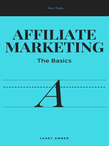 Affiliate Marketing; The Basics