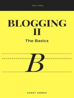 Blogging II