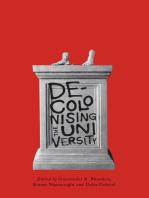 Decolonising the University