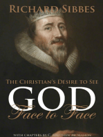The Christian's Desire to See God Face to Face