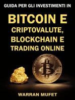 Guida per gli investimenti in Bitcoin e criptovalute, Blockchain e Trading online