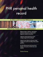 PHR personal health record A Clear and Concise Reference