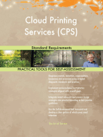 Cloud Printing Services (CPS) Standard Requirements