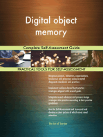 Digital object memory Complete Self-Assessment Guide