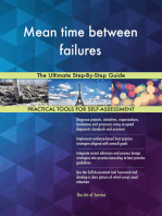 Mean time between failures The Ultimate Step-By-Step Guide