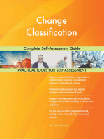 Change Classification Complete Self-Assessment Guide