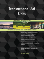 Transactional Ad Units Standard Requirements