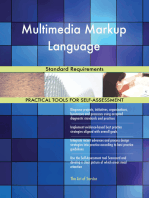 Multimedia Markup Language Standard Requirements