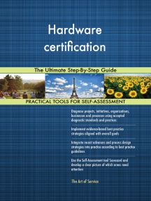 Hardware certification The Ultimate Step-By-Step Guide